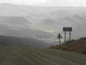 Road to Mount Ceder
